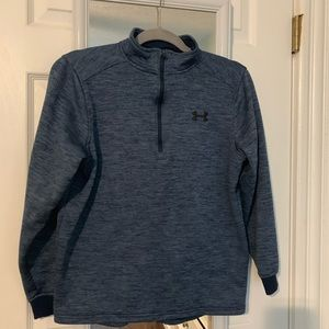 Blue under Armour quarter zip